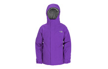 The North Face Girl&#039;s Evolution Triclimate Jacket gravity purple